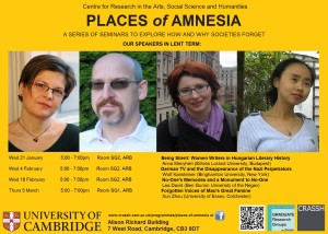 PoA Places of Amnesia Poster